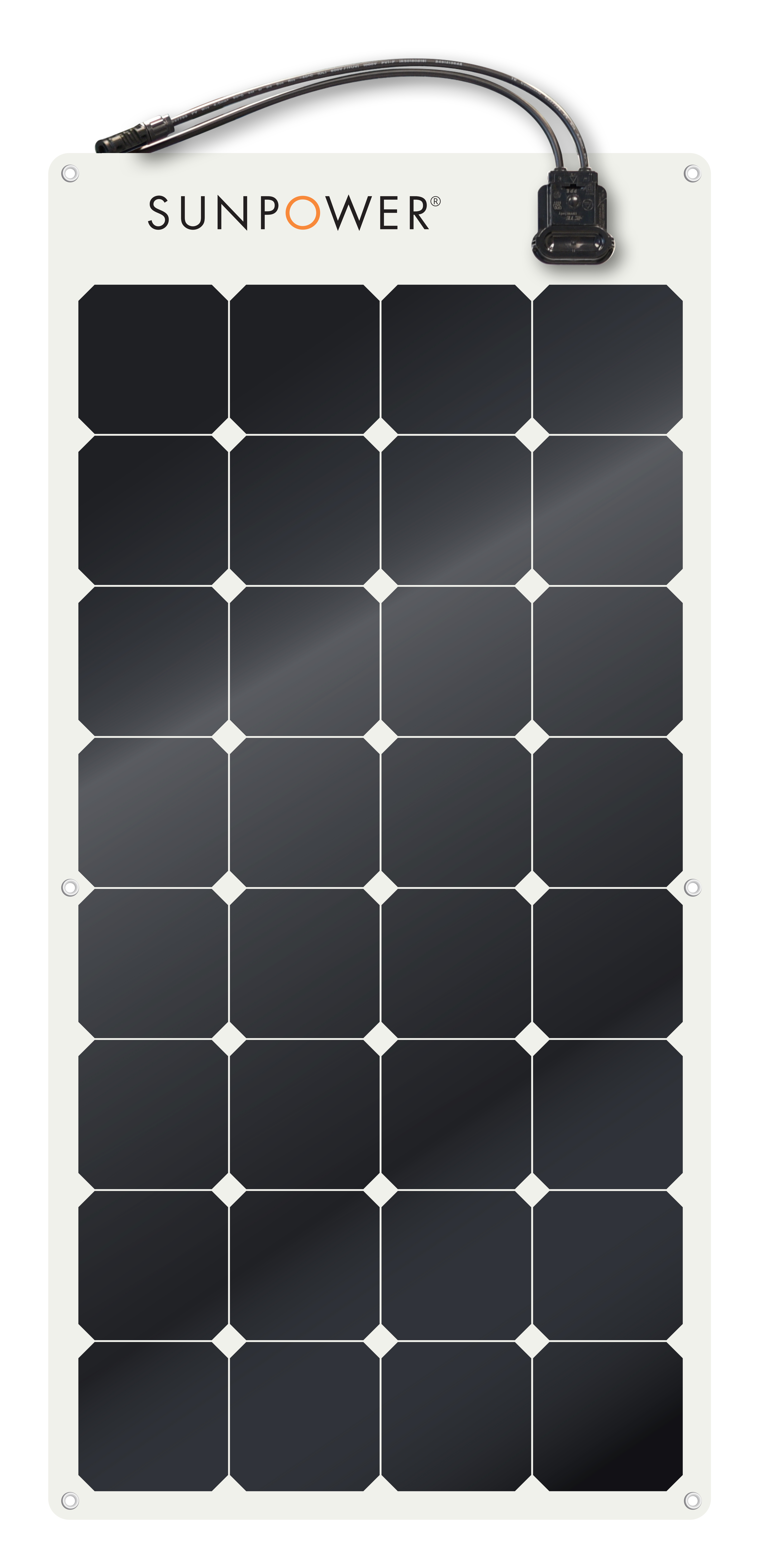 Pin On Sunpower 110 Watt Flexible Solar Panel