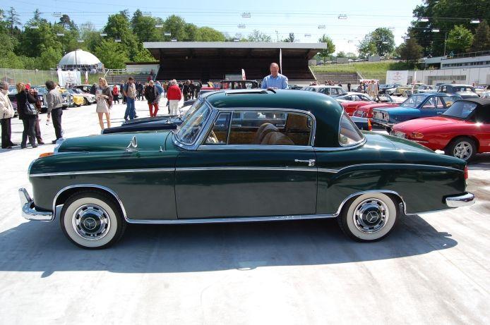 mercedes benz w180 1954 1959 1959 220s coup 2d left. Black Bedroom Furniture Sets. Home Design Ideas