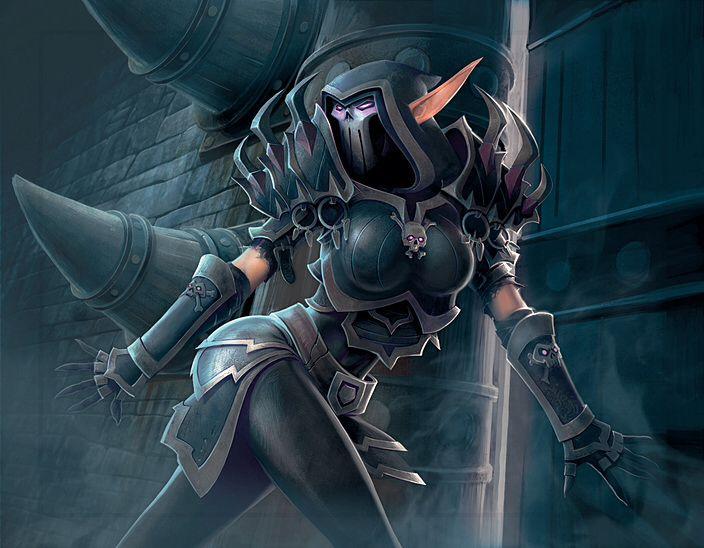 Rogue World Of Warcraft Tcg Art World Of Warcraft World Of Warcraft Game Warcraft