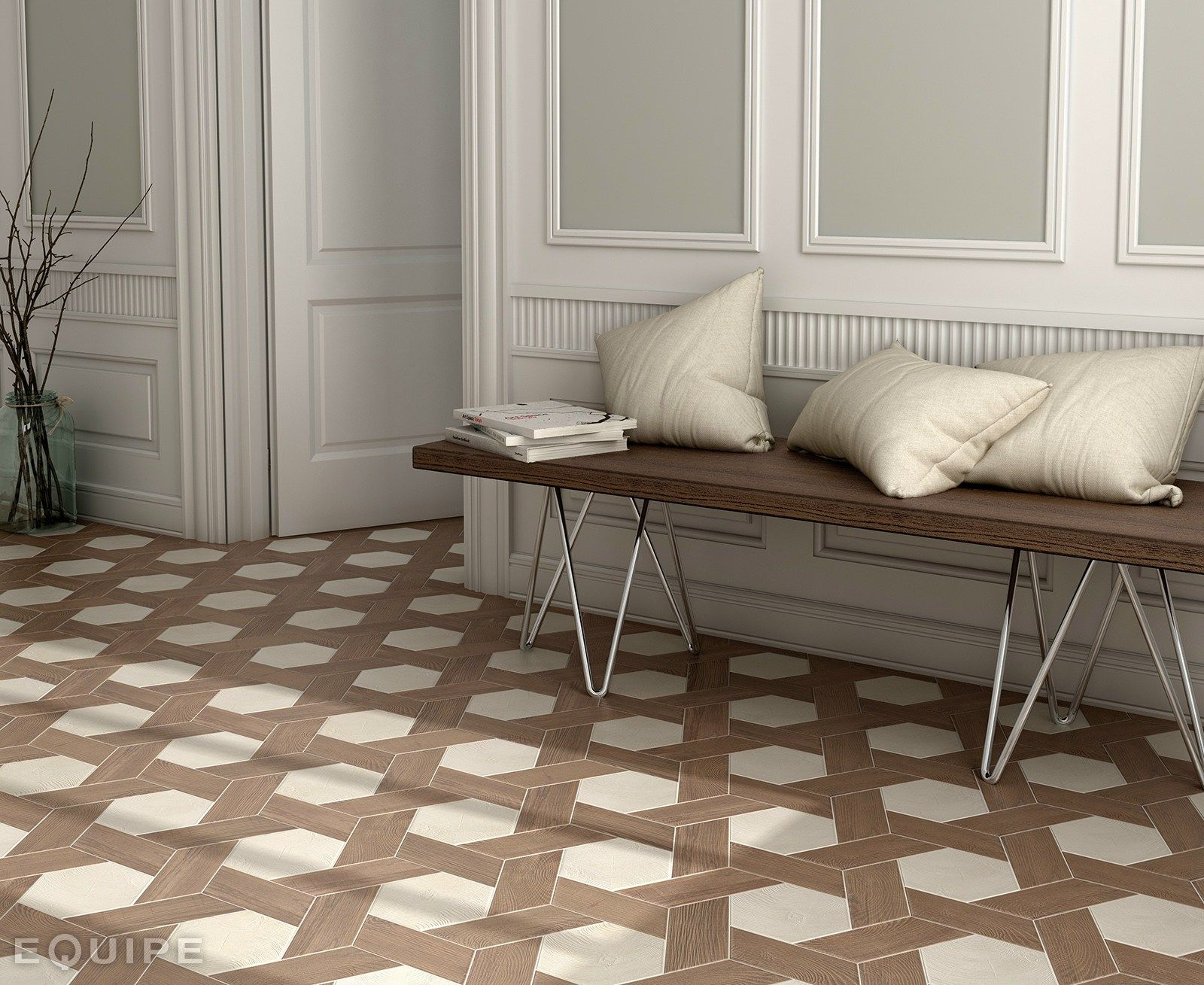 Ceramic floor tiles hexawood by equipe ceramicas salle de bain ceramic floor tiles hexawood by equipe ceramicas dailygadgetfo Image collections