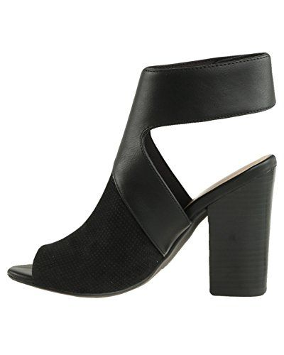 159db7a4d64 Call It Spring Womens Dwarien Peep Toe Ankle Strap Mules