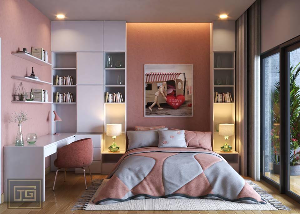 62 Girl Bedroom Free Sketchup Interior Scene In 2020 Bedroom Interior Interior Girls Bedroom