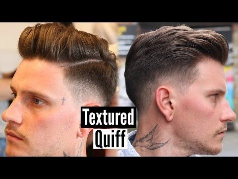 Mens Quiff Hairstyle Haircut Tutorial Mens Hair 2017 Youtube
