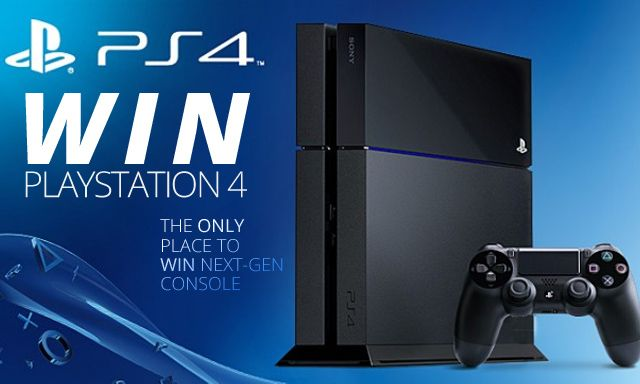 Free ps4 console giveaways