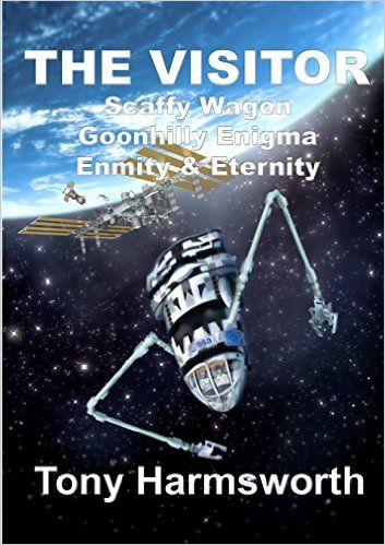 The Visitor by Tony Harmsworth My rating: 3 of 5 stars Three point Five stars The Visitor is a SciFi tale and begins in 2025 with astronaut Evelyn Slater heading up in a Soyuz shuttle to the Inter…