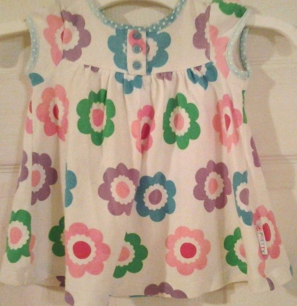 099 Carters Pretty Flower Dress Baby 0 3 Months Baby Scarlet
