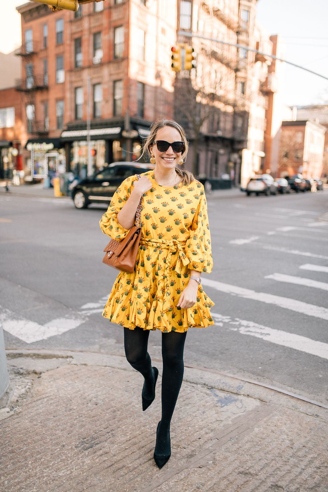 Styling A Summer Dress For Winter My 26 Hour Travel Adventure Summer Dresses Winter Dresses Dresses [ 1650 x 1100 Pixel ]