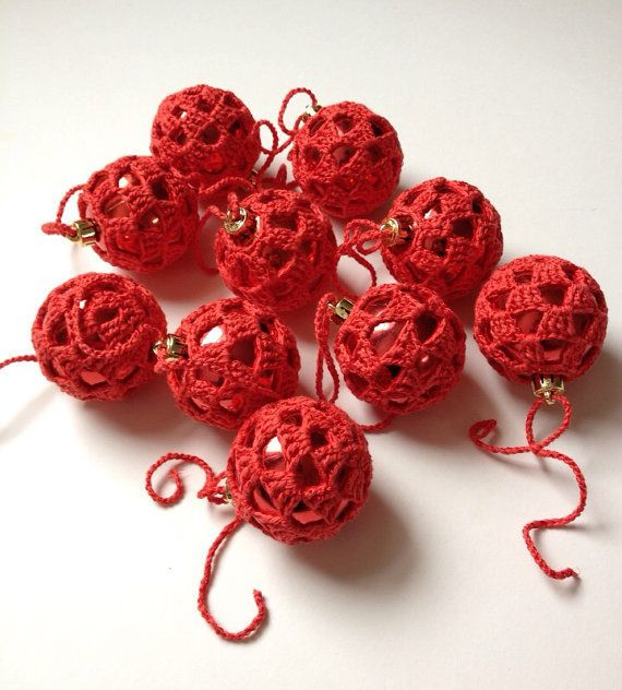 Christmas Baubles Buy 10 and get 2 Free, Tree Decorations, Red Colour £18.00