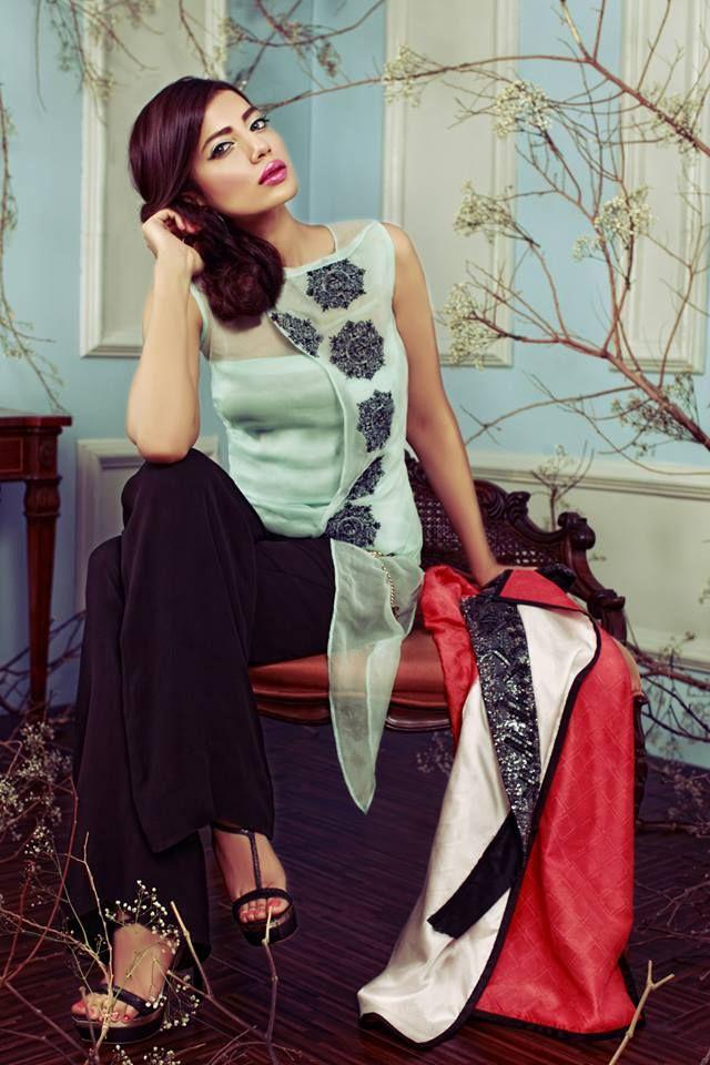 Stylish Sana Salman Jackets Fall Winter 2014 for Girls
