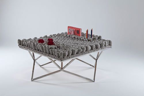 Fractal collection by Nicole Tomazi  via design-milk.com  This series of furniture is more than love!