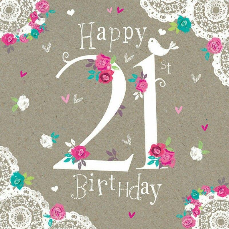 Happy 21st birthday birthday 21st flowers Happy 50th