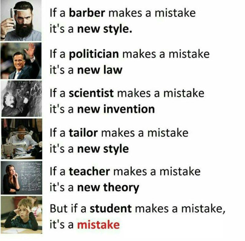 Student Makes Mistake Is Mistake Funny Meme English Jokes Funny Quotes Best Friendship Quotes