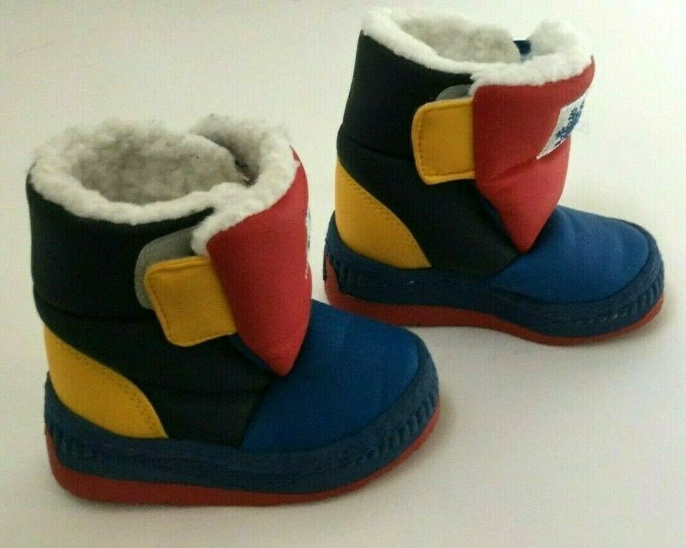 Reebok Boy Shoes Infant Baby Boots Classic Snow Jogger Shoes Winter DV3663 New