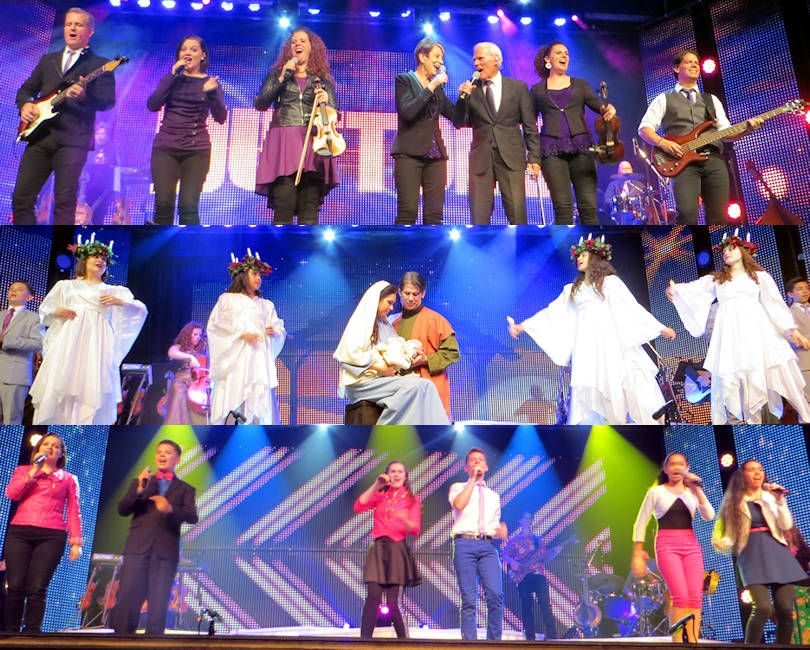 Scenes From The Very Entertaining The Duttons Show In Branson