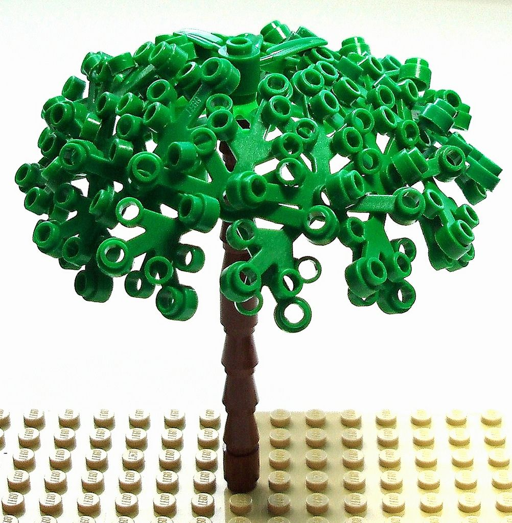 Tree Tutorial Old Photo Newly Edited For A Project Legos