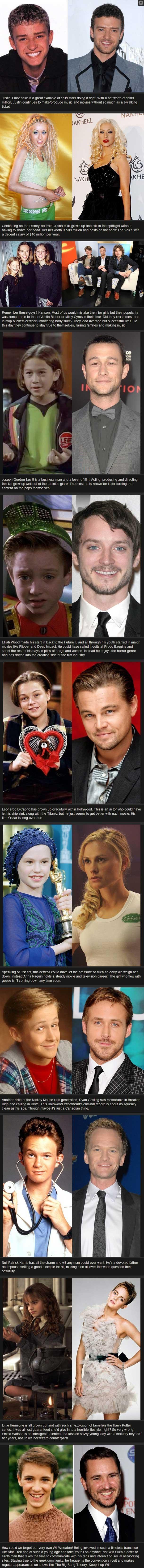Actors past and present  | randumb | Child actors, Actor