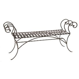 Wrougt Iron 63 Inch Waterbury Bench Without Back Rest Com Imagens