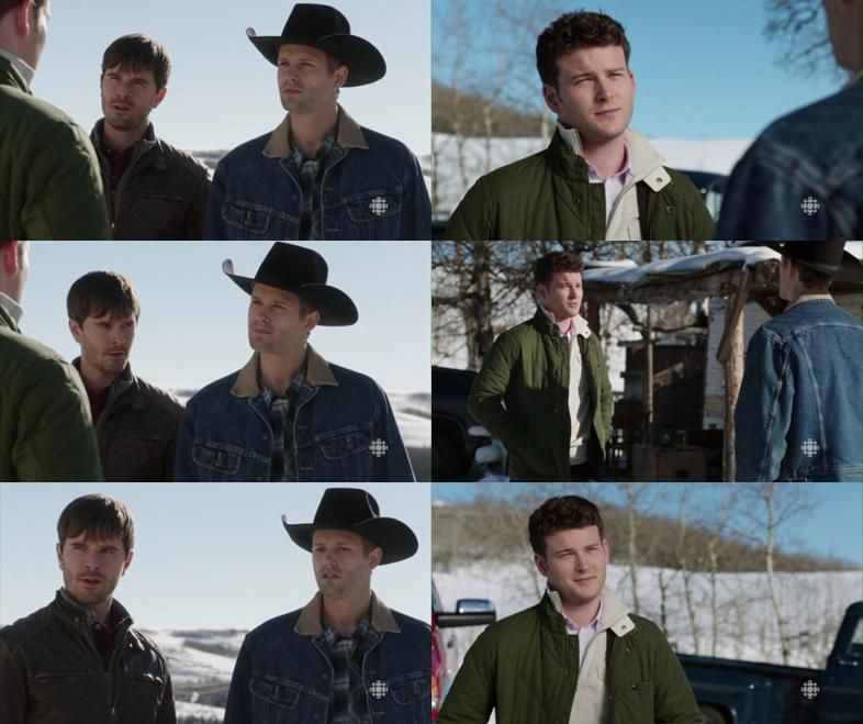 Ty: What do u want? Jesse: I've got a serious cash flow problem. So I'm gonna have to call in ur loan. Caleb: Is this a joke? You no I don't have that kind of cash. Jesse: I don't have any other choice. It's just business. If the money's not paid in full, I'll be forced 2 register a lien on this property. Ty: A land grab? Caleb: Is that what this has all been about? I was crazy to trust u. Jesse: Trust? That's real funny coming from the guy who's been running around with my girlfriend…