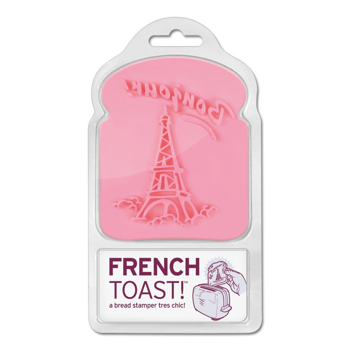 """""""French Toast"""" mal anders: Mit diesen Toast-Stempeln begrüßt einen der Eiffelturm am Frühstückstisch – eine fröhliche und ausgefallene Geschenkidee!"""