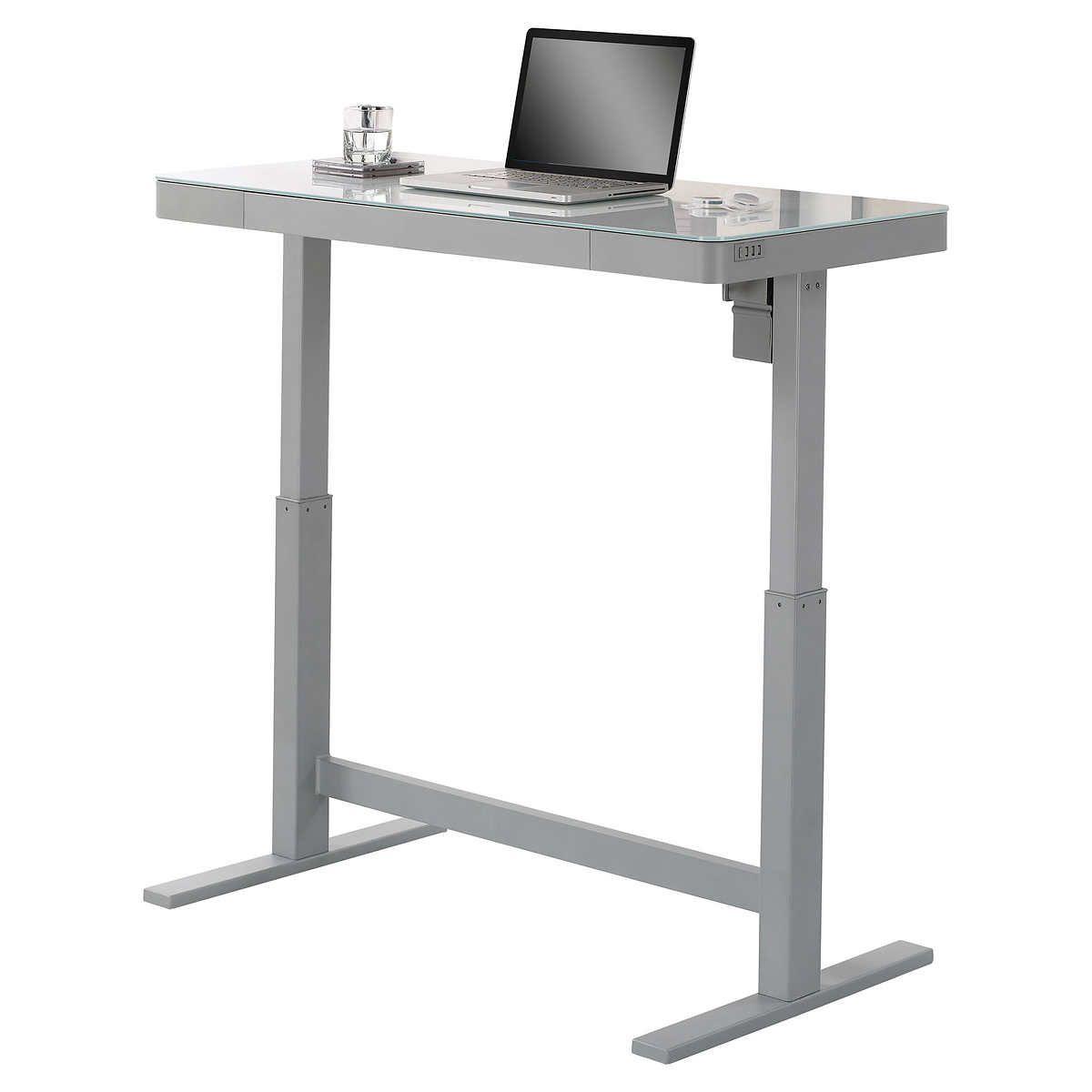 Tresanti Adjustable Desk In 2020 Adjustable Height Desk Adjustable Desk Desk