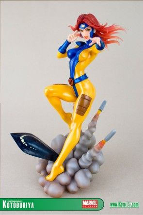 Comic-Action- & -Spielfiguren Marvel Kotobukiya Bishoujo Statue Jean Grey X-Men Action Figure