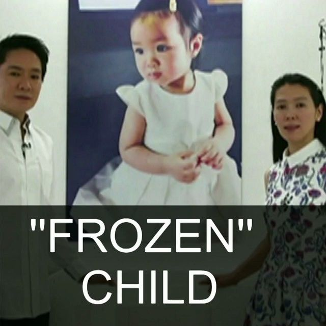 """15 OCT: Parents hope """"frozen"""" child will live again #Thailand #Cyrogenics #Frozen #Child Two-year-old Thai girl Matheryn Naovaratpong became the youngest person to be cryogenically frozen her brain being preserved at the point of death. Her parents both of whom are medical engineers say they are """"100% convinced"""" future scientific advances mean she will one day be restored to life. Watch more: bbc.in/frozen #BBCShorts @BBCNews by bbcnews"""