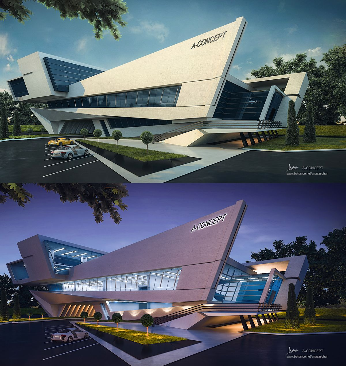 Modern Architecture Concept: A-concept On Behance