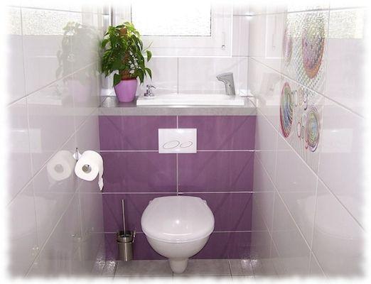 WiCi Bati ®  Les toilettes suspendues avec lavabo intégré kupelna - meuble pour wc suspendu leroy merlin