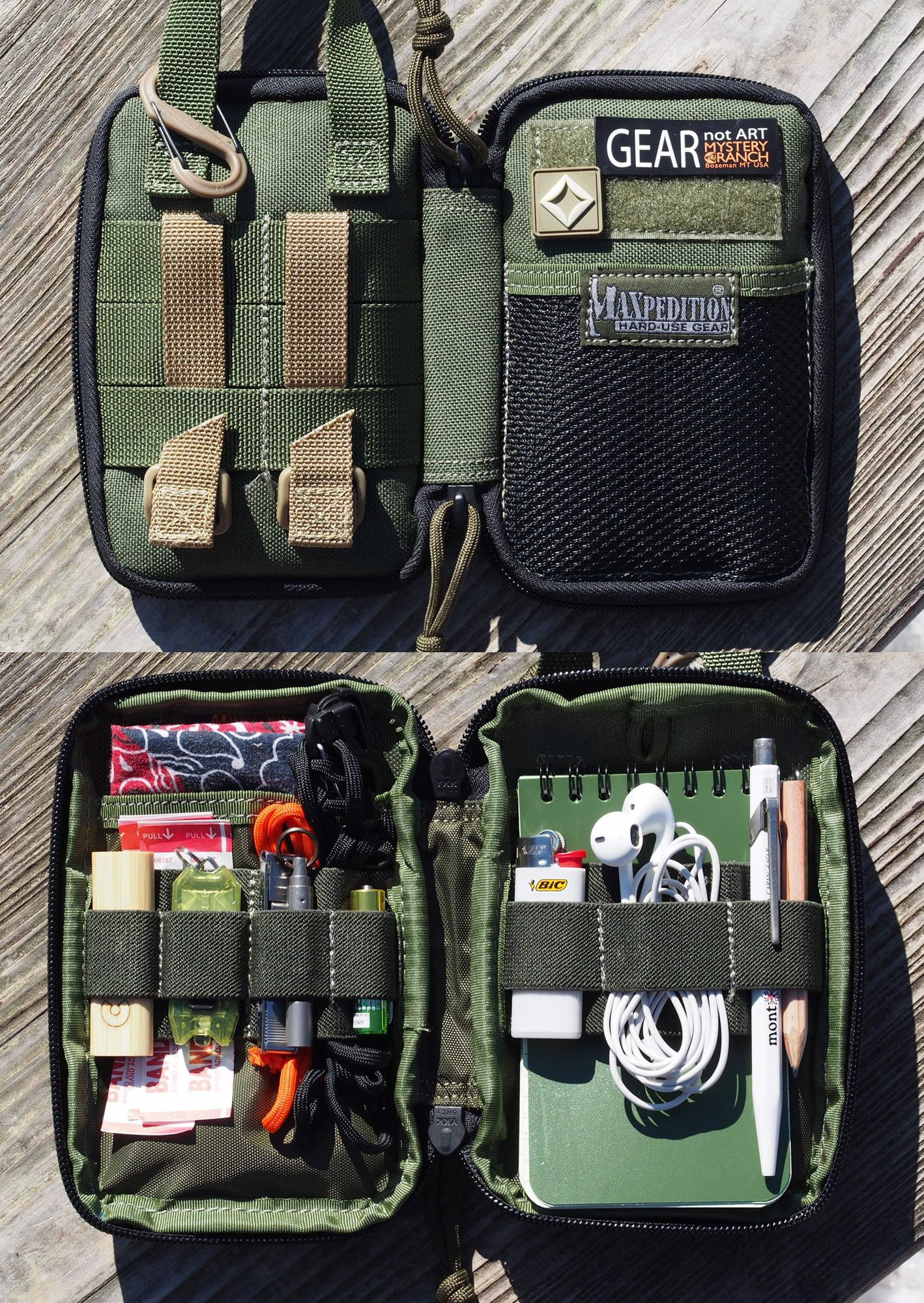 maxpedition mini  Maxpedition Mini Pocket Organizer:Mini EDC Set | Survival Gear ...