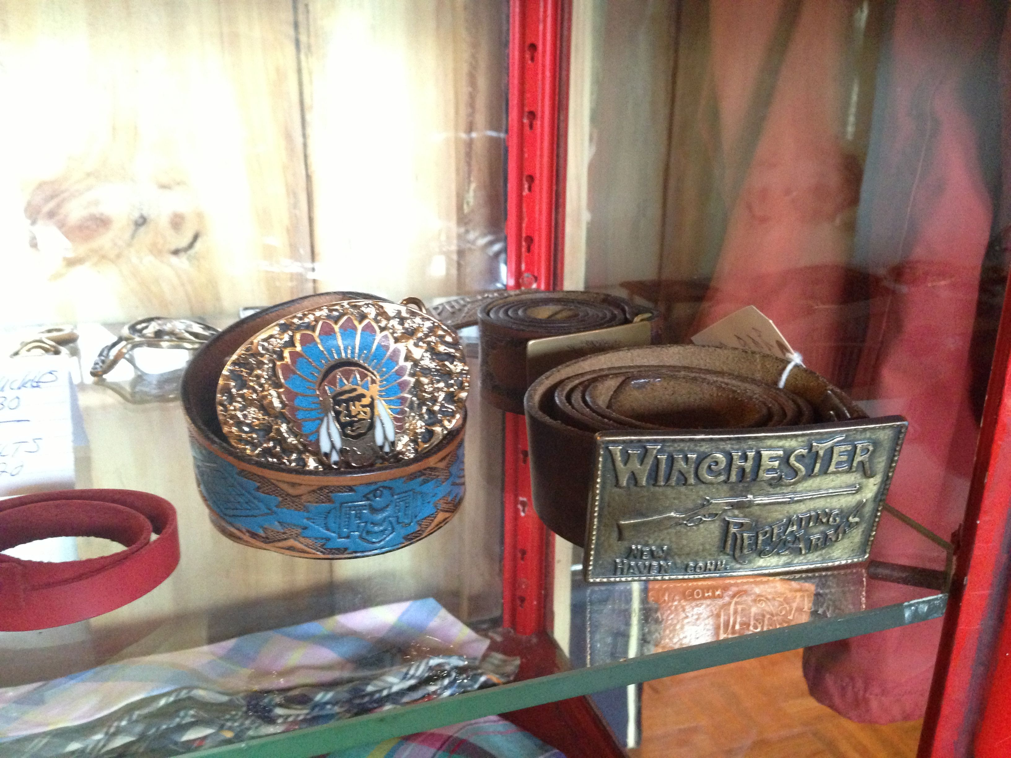 Western and other great belts and buckles to complete your look.