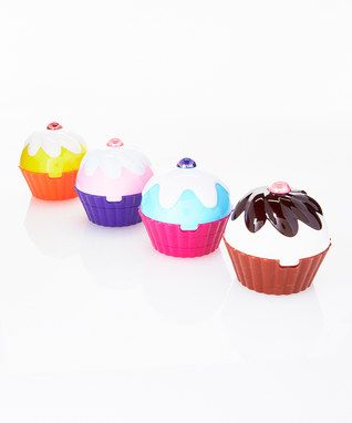Cupcake Cosmetic Set - Set of Four