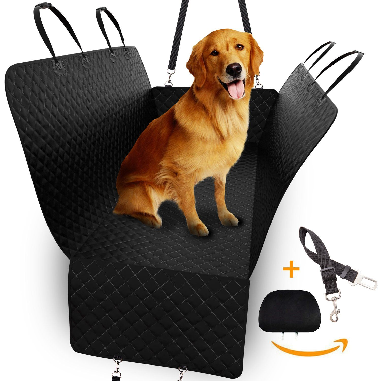 Dog Back Seat Cover Hammock Pet Protector for Car SUV