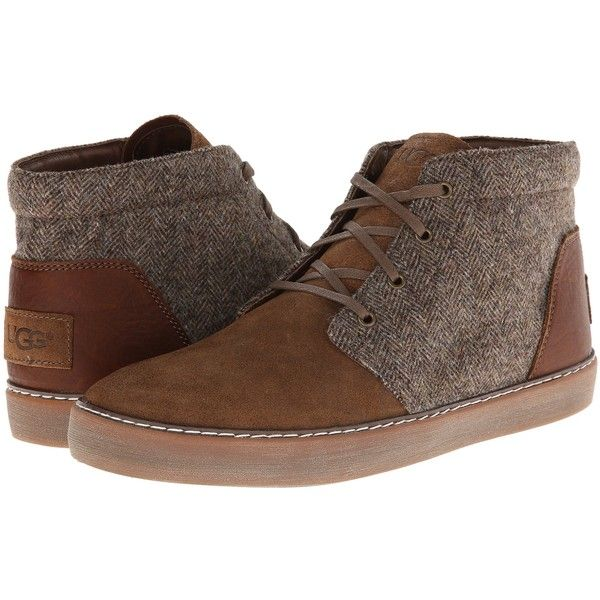 Mens Shoes UGG Alin Tweed Stout Leather
