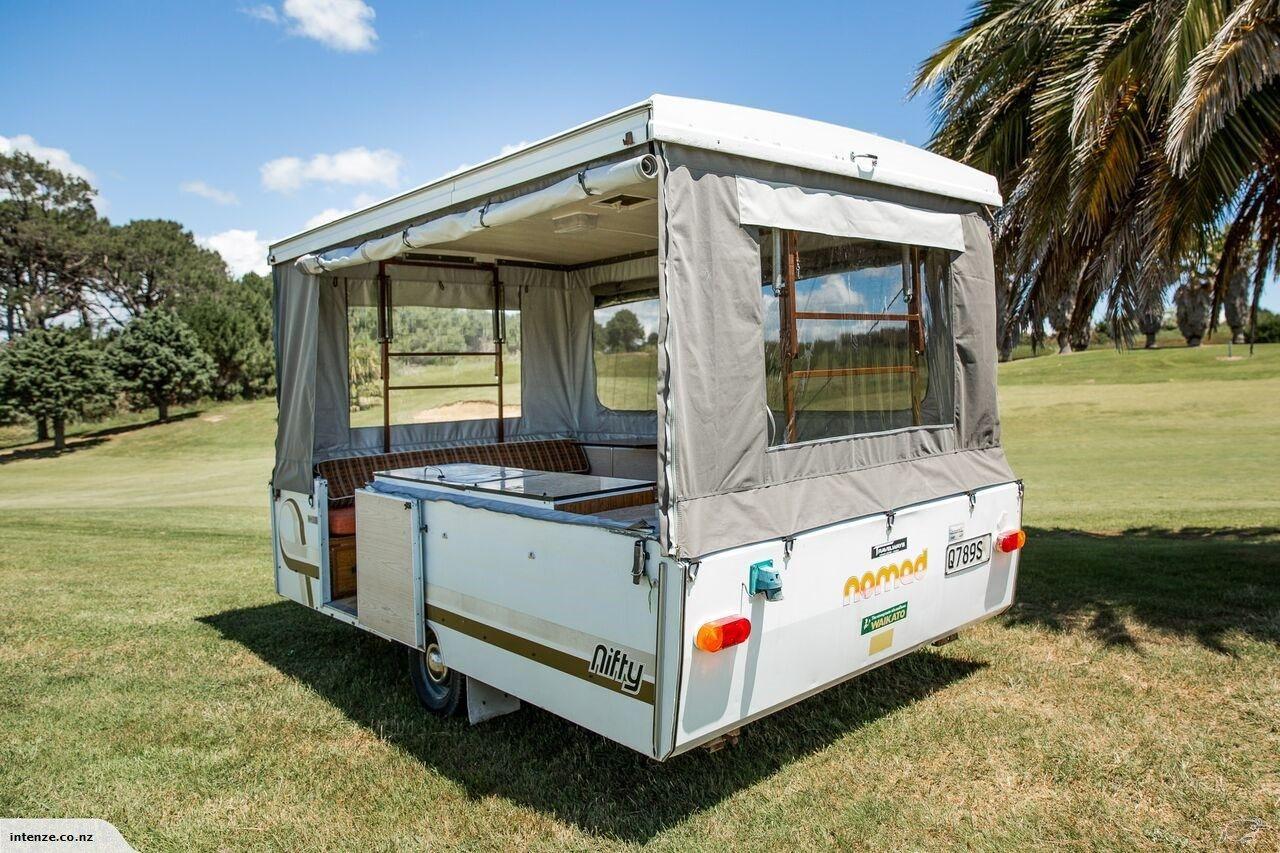 1979 Nifty Nomad Pop Top Camper Trailer Trade Me 5800 Pop Top