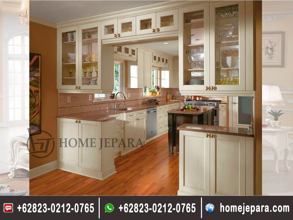 Cabinet kitchen set minimalis duco tfr 0226 kitchenset jati kitchenset jati minimalis