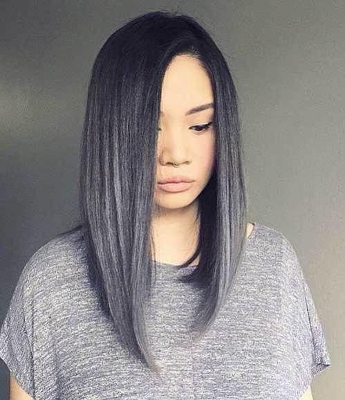 15 trendy long bob hairstyles hair cut pinterest longer bob 25 simple long bob hairstyles which you can do yourself striking grey long bob haircut solutioingenieria Gallery