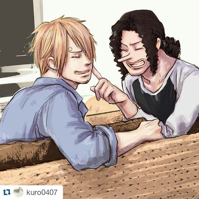 Sanji X Usopp Usopp One Piece Ship One Piece