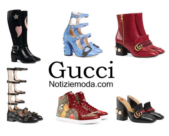 af8939fe76542 Scarpe Gucci autunno inverno 2016 2017 moda donna
