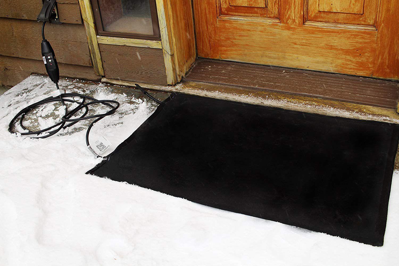 Top 10 Best Melting Heated Walkway Mats In 2020 Reviews Snow Mat Snow Melting Outdoor Door Mat