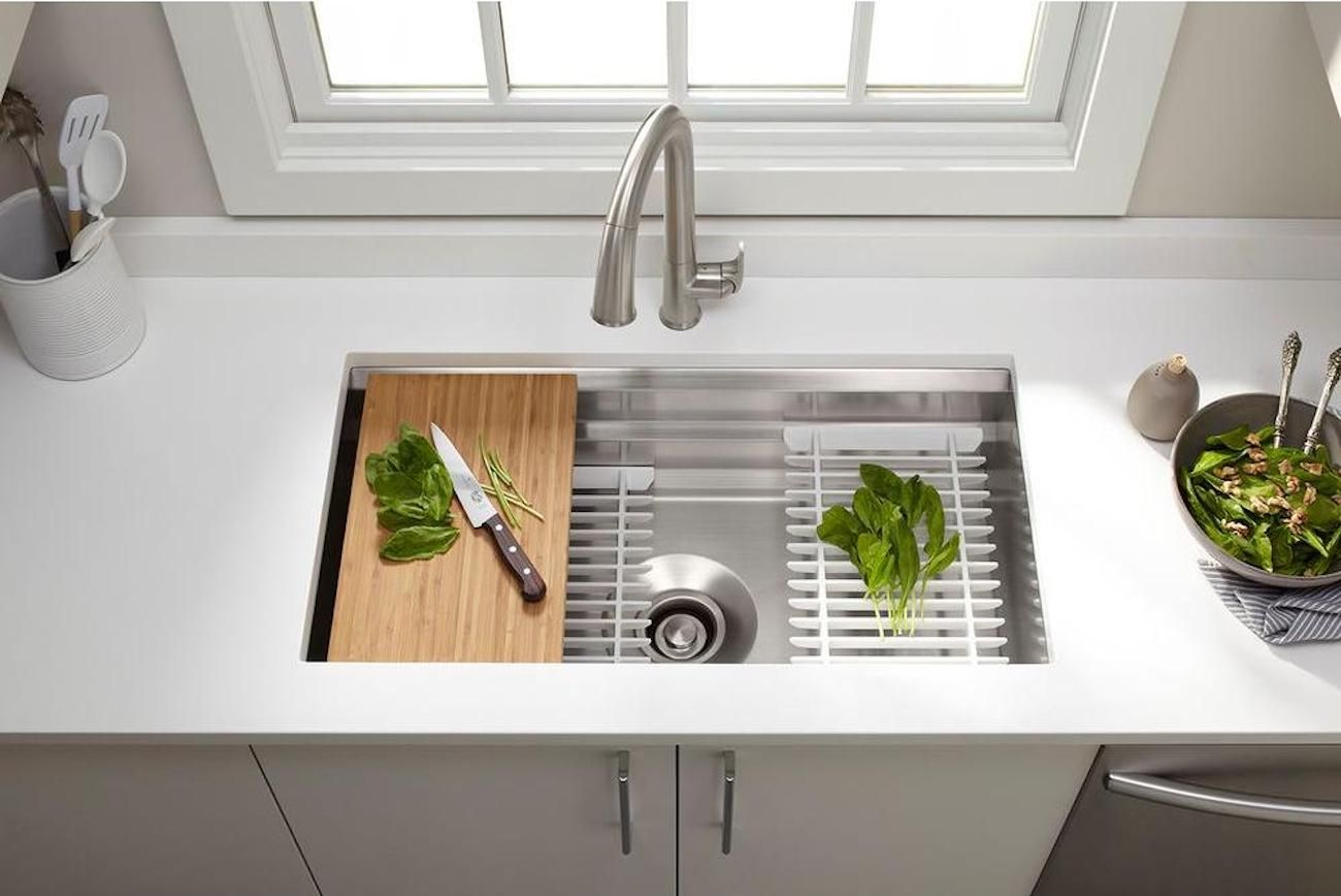 Kohler prolific undermount kitchen sink kit sinks pinterest