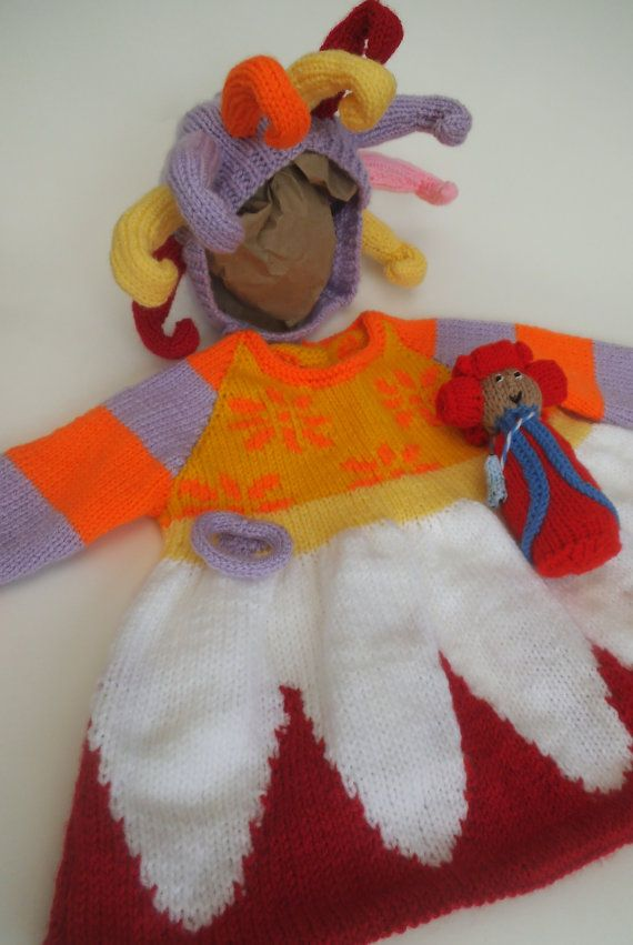 This Is A Easy To Follow Knitting Pattern To Make An Upsy Daisy