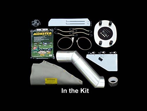 Monster Leaf Bag Adapter Kit Turns Lawn Tractors Without
