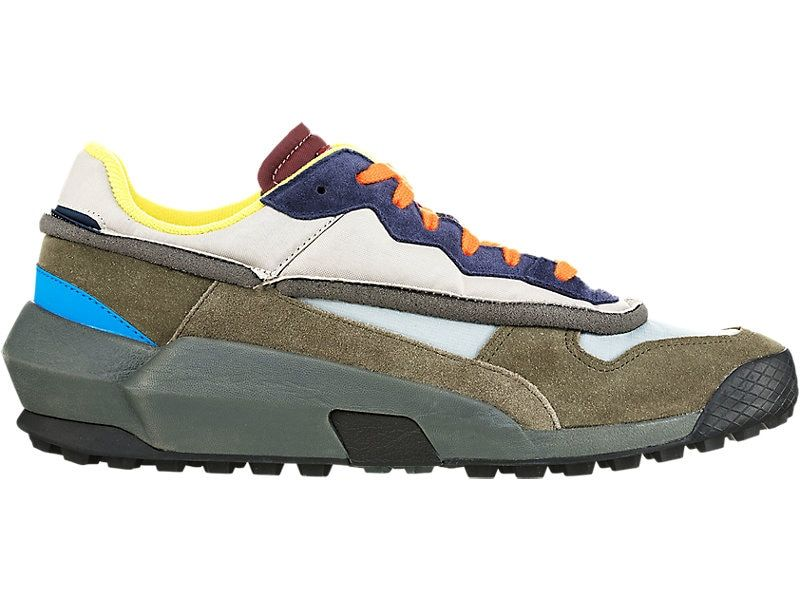 Admix Runner Dark Olive Feather Grey Onitsuka Tiger United States Onitsuka Tiger Mens Onitsuka Tiger Fashion Shoes