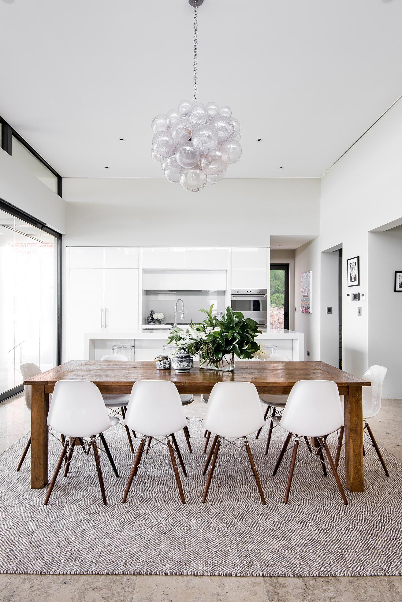 Midcentury modern kitchendining room interior design coco