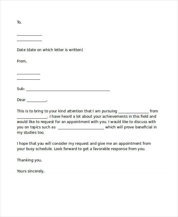 appointment letter templates free word pdf documents download - job appointment letter
