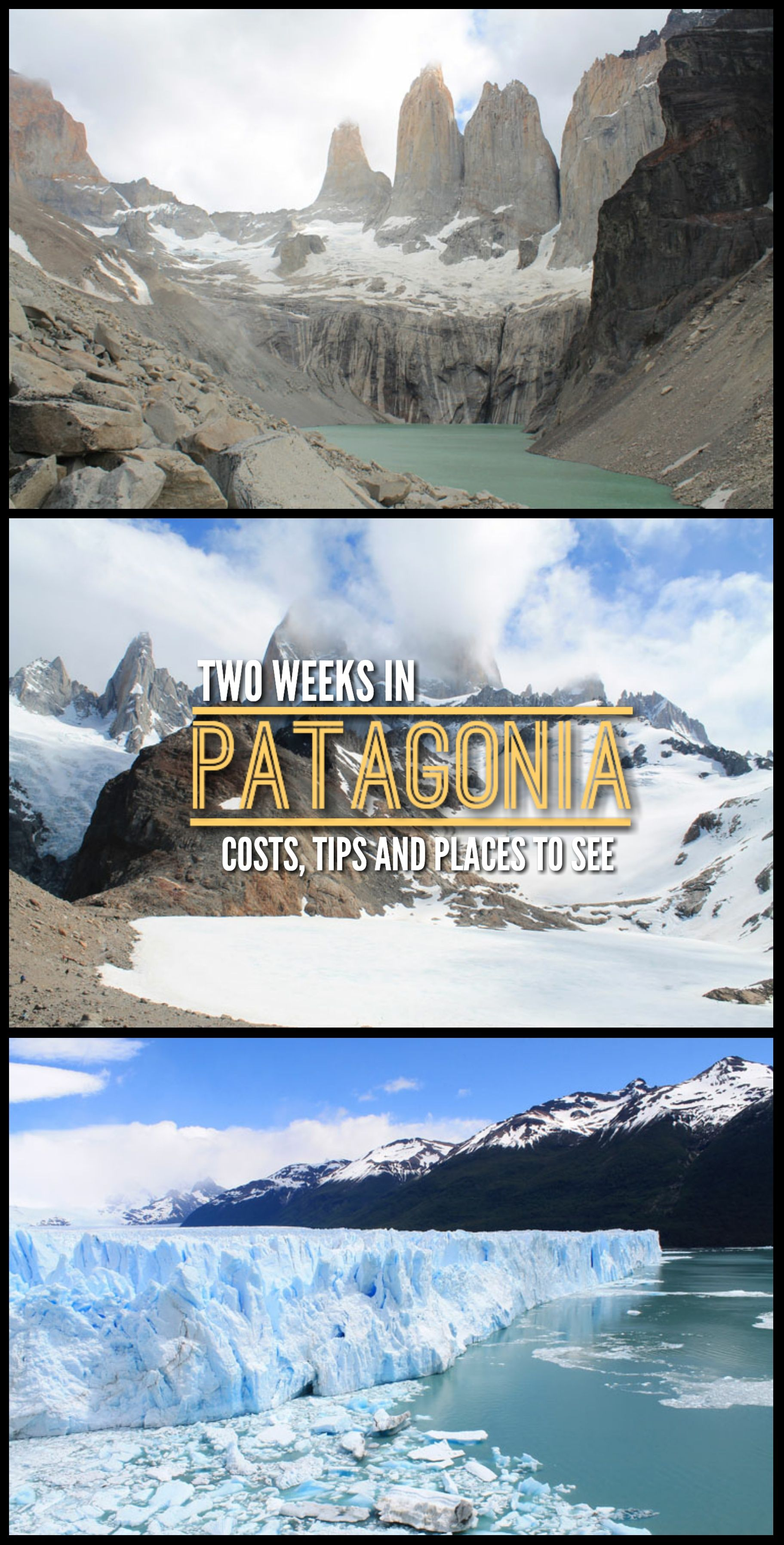 You can pack a lot into two weeks in Patagonia -- Chile and Argentina  --including the iconic W Trek, other hikes, glaciers and an awesome boat  ride through ...