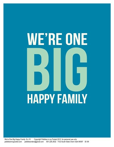 Charmant Happy Family Quotes