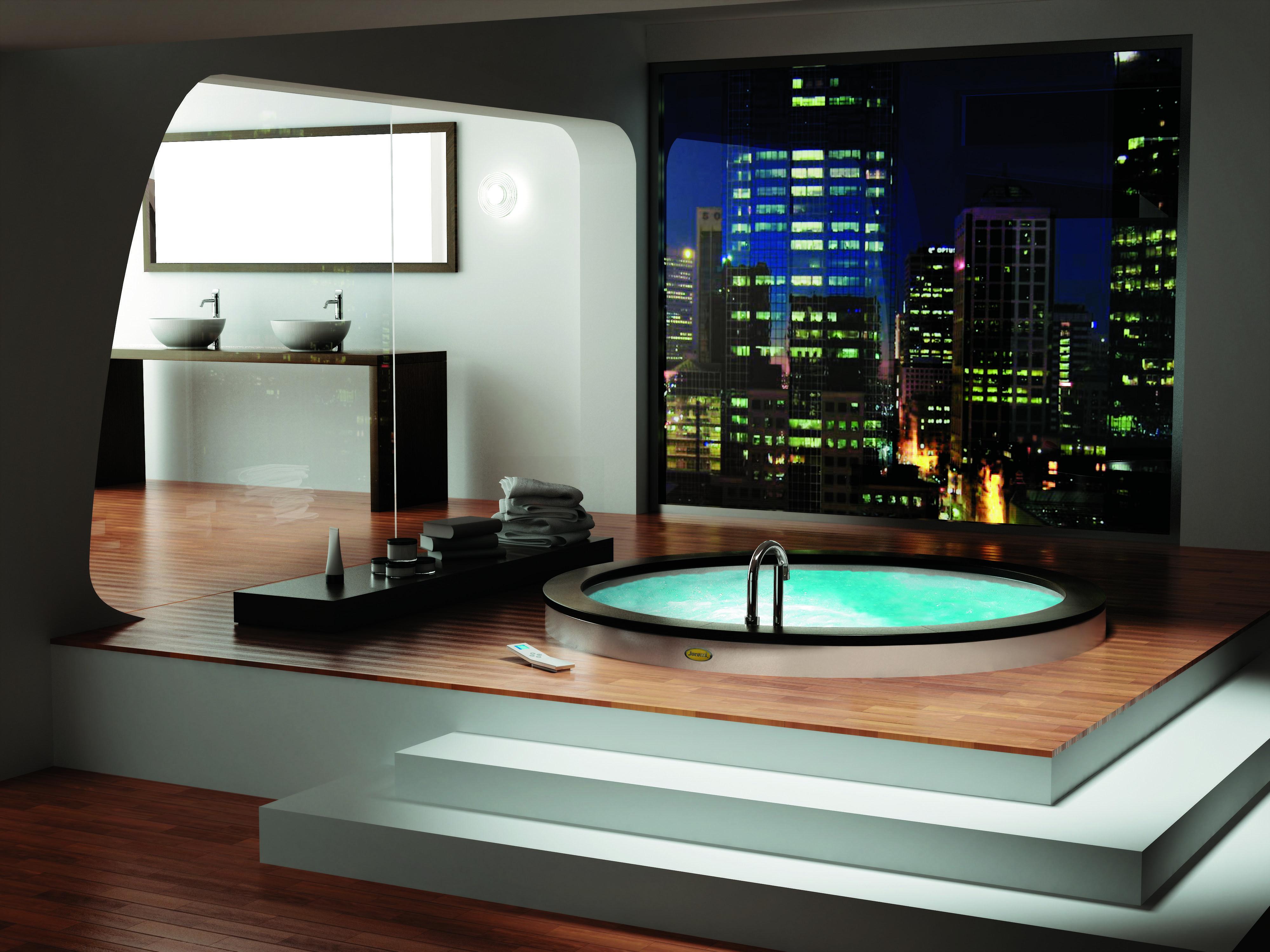 Bath Luxury Round Jacuzzi Design