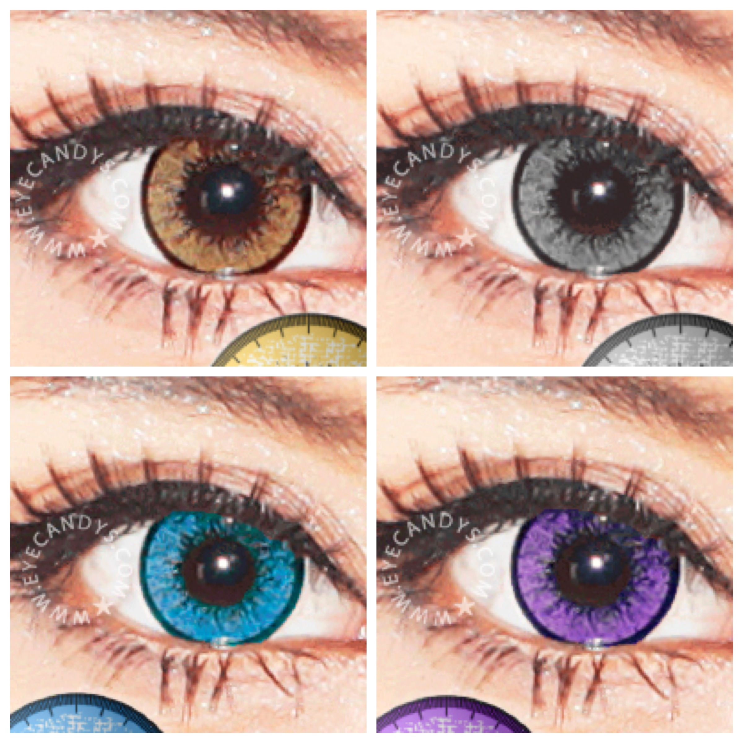 EOS New Adult color contact lenses - which color is your fave? #eyecandys #circlelens