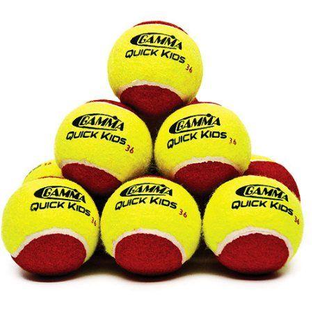 Gamma Quick Kids 36 Tennis Training Ball 12 Pack Tennis Tennis Balls
